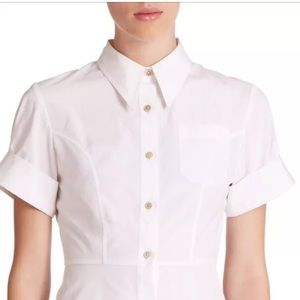 Marc Jacobs stretch poplin Fencing shirt XS